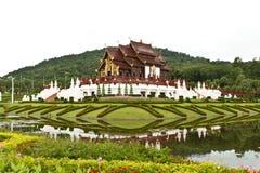 Hor Kam Luang Royalraiapruek Chaingmai Thailand Royalty Free Stock Photos