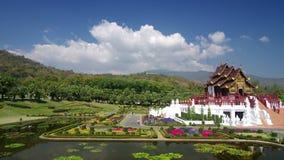 Hor Kham Luang, flore royale Chiang Mai, Thaïlande banque de vidéos