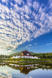Hor kham luang at Royal Park Rajapruek. Landscape shot Hor kham luang at Royal Park Rajapruek in Chiangmai, Thailand Stock Image
