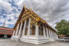 Hor Phra Monthian Dharma, Temple of the Emerald Buddha  complex Stock Photos