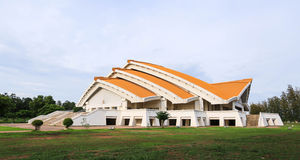 Hor Pra Chum Gand Jah na pi Sang auditorium at Khonkaen Universi Royalty Free Stock Photos