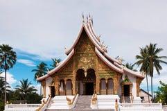 Hor Prabang i Luang Prabang som är laotisk royaltyfria bilder