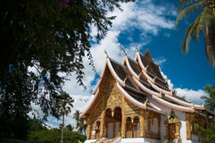 Hor Prabang. At Luang Prabang Royal Palace Museum Royalty Free Stock Photography
