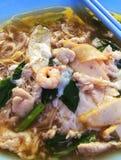 Hor-Spaß ist eine berühmte Mahlzeit in Singapur und in Malaysia Stockbild