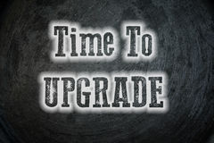 Hora de actualizar concepto imagenes de archivo
