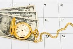Hora de aposentar-se Imagens de Stock Royalty Free