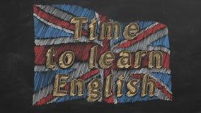 Hora de aprender ingl?s libre illustration