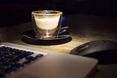 Hora de beber o café Imagens de Stock