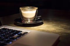 Hora de beber o café Fotografia de Stock