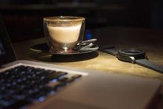 Hora de beber o café Fotos de Stock