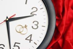 Hora de casar-se Imagem de Stock Royalty Free