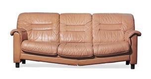 Hora de começ um sofá novo? imagem de stock royalty free