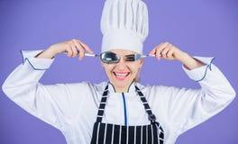 Hora de comer Apetito y gusto Culinario tradicional Cocinero profesional de la escuela culinaria Academia de los artes culinarios imagenes de archivo