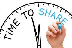 Hora de compartir