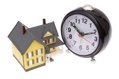 Hora de comprar uma casa Imagens de Stock