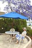 Hora de descansar a San Diego California Foto de archivo libre de regalías