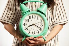 Hora de despertar Foto de archivo libre de regalías