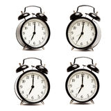 Hora de despertar - el despertador viejo Fotografía de archivo