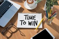 Hora de ganhar a hora pelo tempo da mudança da ação ir Foto de Stock Royalty Free