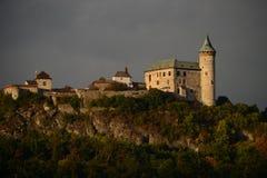 Hora de Kuneticka del castillo Imágenes de archivo libres de regalías