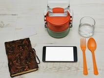 Hora de la almuerzo en estilo asiático Foto de archivo
