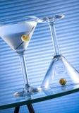 Hora de Martini Imagen de archivo libre de regalías