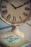 Hora de meter en diario Imágenes de archivo libres de regalías