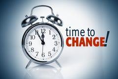 Hora de mudar Imagens de Stock