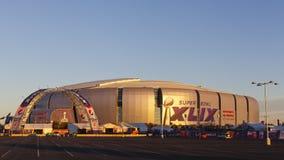Hora de oro de Super Bowl en Phoenix, AZ Fotografía de archivo libre de regalías