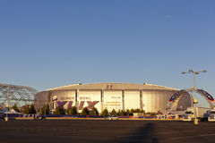 Hora de oro del Super Bowl, Glendale, AZ Foto de archivo