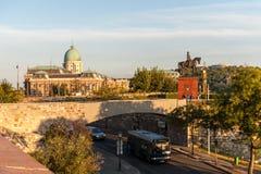 Hora de oro en Budapest fotografía de archivo