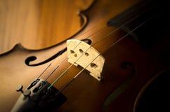 Hora de praticar o violino Foto de Stock Royalty Free