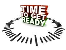 Hora de preparar-se Imagem de Stock Royalty Free