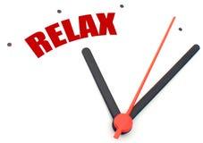 Hora de relaxar imagem de stock