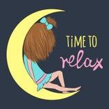 Hora de relaxar Imagens de Stock Royalty Free