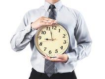 Hora de trabalhar Imagem de Stock