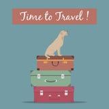 Hora de viajar Imagen de archivo libre de regalías