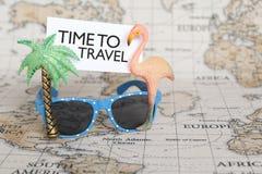 Hora de viajar imagem de stock royalty free