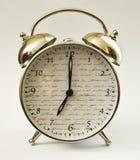 Hora del despertador del reloj décima Foto de archivo
