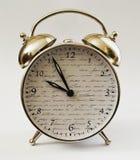 Hora del despertador del reloj décima Imagen de archivo