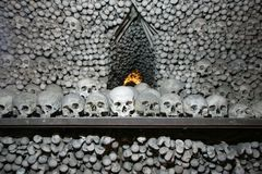 Hora del kutna de los cráneos Fotografía de archivo