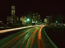 Hora del tráfico Fotografía de archivo libre de regalías