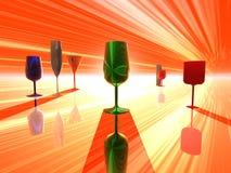 Hora do cocktail Fotos de Stock Royalty Free