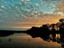 Hora dourada da manhã Imagem de Stock Royalty Free