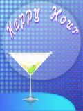 Hora feliz (01) Fotografia de Stock Royalty Free