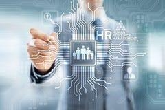 Hora - Gesti?n de recursos humanos, infraestructura del reclutamiento, de Team Building, de la organizaci?n y relaciones sociales ilustración del vector