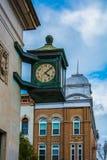 Hora, minuto Em segundo, ano nas nuvens Fotografia de Stock Royalty Free