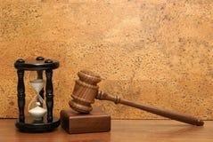 Hora para a assistência jurídica Fotografia de Stock