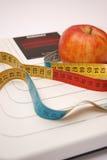 Hora para a dieta? Fotografia de Stock
