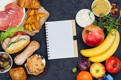 Hora para a dieta conceito de jejum da dieta do 5:2 fotos de stock royalty free